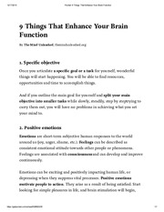 Pocket_ 9 Things That Enhance Your Brain Function