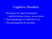 cognitive_disorder