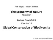 ricklefs_lecture_ppt_ch23