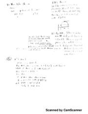 Calc 1 Notes, Mean Value Theorem