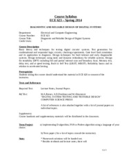 ECE623_Syllabus_modified for Fall 2014
