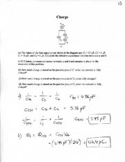 Online Homework 13 Solutions