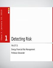 Lecture 03 - Detecting Risk.pptx