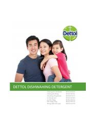 Marketing Plan Project Report - Dettol Dishwashing Detergent - Group 6.pdf