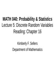 MATH 040 Lecture 5.ppt