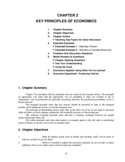 Ch02 - CHAPTER 2 KEY PRINCIPLES OF ECONOMICS 1 2 3 4 5 6 ...