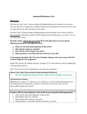 Annotated Reference List.docx