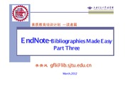 EndNote-BibliographiesMade+Easy-Part+3
