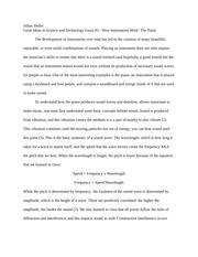 Great Ideas in Science and Technology Essay #5