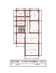 Second Floor Framing Plan Data
