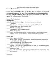 PED 202 Lesson Plan Instructions_Eval Spr 2012