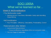 SOCI 1005A - Lecture Wk 9 - Powerpoint slides.ppt