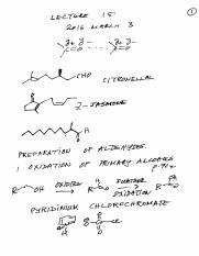 Chem 263 B1 Lecture 15 2016 March 3