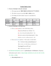 German Chapter 3 Notes 3-1 and 3-2 (1)