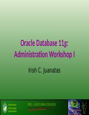 Oracle Database 11g Installation - Ms Ish.ppt