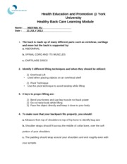 Healthy-Back-Care-learning-module-quiz-11