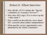 Elliott interview discussion questions