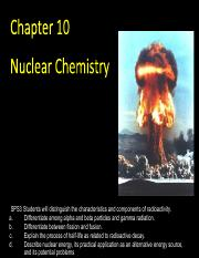Notes_Nuclear Chemistry