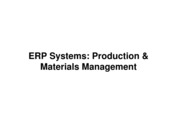 CH 5 ERP Systems_ Production and Materials Management