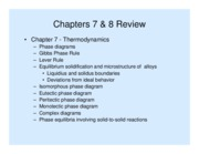 Review of Chapters 7 - 8 PRS