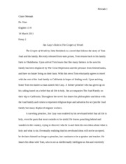 dorian gray research paper the picture of dorian gray the  3 pages the grapes of wrath essay