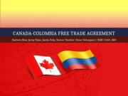 Canada-Colombia Free Trade Agreement