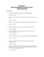 THE ACCOUNTANT�S ROLE IN THE