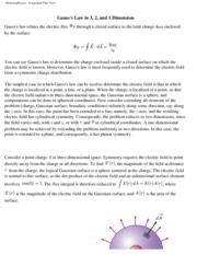 HW #3 - Gauss' Law