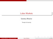 labor-markets