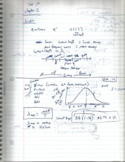 Light Calculation Notes