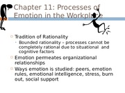 Processes of Emotion-2