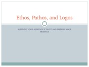555 Ethos, Pathos, and Logos