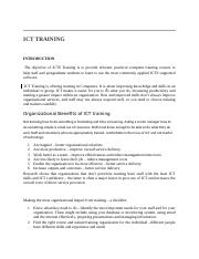 ICT TRAINING -S.docx