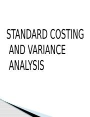 4. Standard costing and variances.pptx