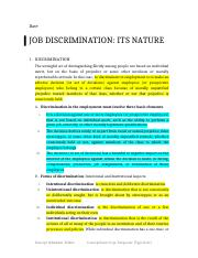 job discrimination.docx