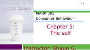 MARK 305-Fall 2014-Chapter 05-The Self (web)