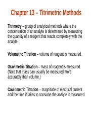 CH 223 Chapter 13 Fundamentals of AC Titrimetry 9thED.ppt