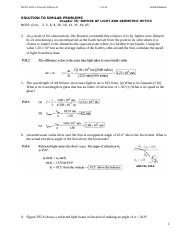 UP2-HW-ch-35-S-Nature of Light and Geometric Optics