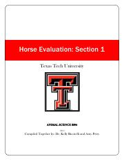 Horse Judging manual Section 1-23 with final revisons