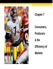 Ch 7  Consumer and Producer Surplus Student Version