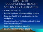CHAPTER_8_OCCUPATIONAL_HEALTH_AND_SAFETY_LEGISLATION