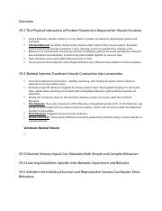AP Biology-Unit 6 Animal Form & Function-Chapter 39 Notes-Motor Mechanisms and Behavior.docx