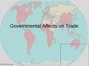 9 Government affects on trade