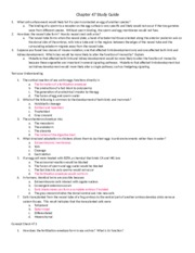Chapter 47 Study Guide