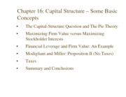 C09_Chapter16_Capital+Structure+Basic+Concepts