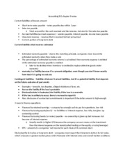 Accounting201 chapter 9 notes