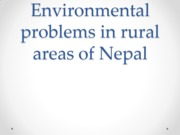 Environmental problems in Nepal (Report)