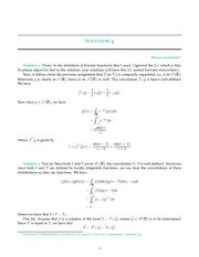 MATH 335 Homework 4 Solutions