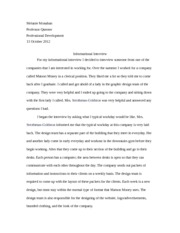 informational interview essay informational interview essay  informational interview essay gxart orginformational melanie monahan professor querner professional pages informational interview