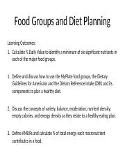 D_Food Groups and Diet Planning.ppt